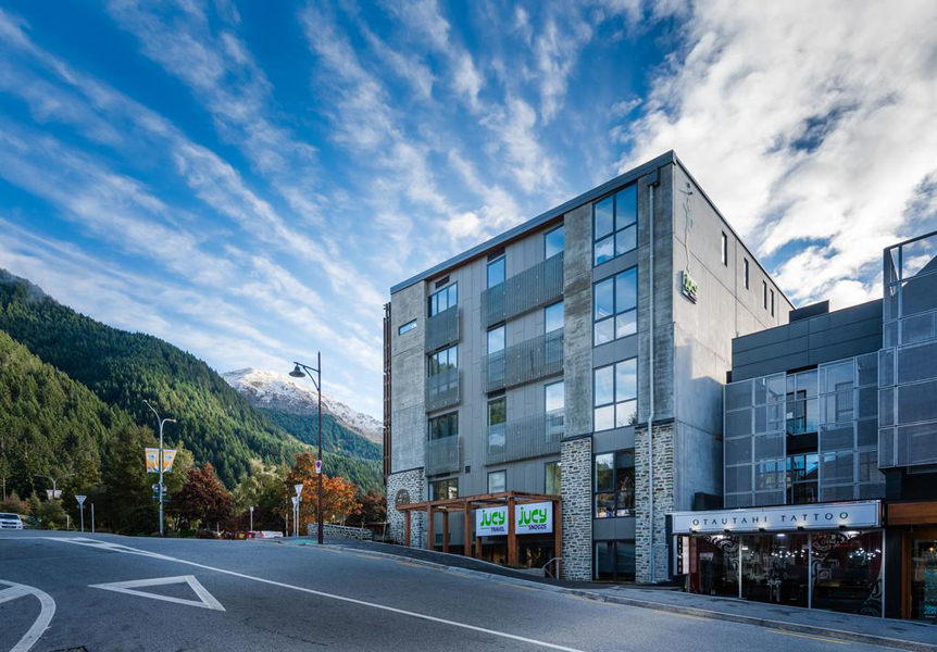 Oxford Holdings, Jucy Snooze, Camp Street Queenstown