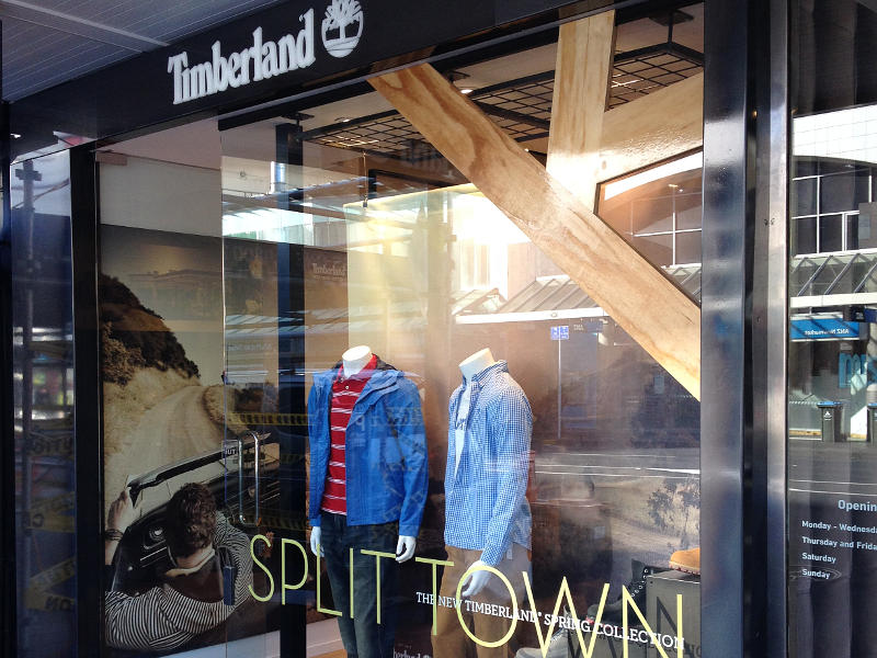Timberland Stores Auckland and Wellington