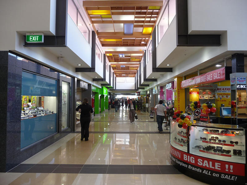 Golden Centre Mall, Dunedin